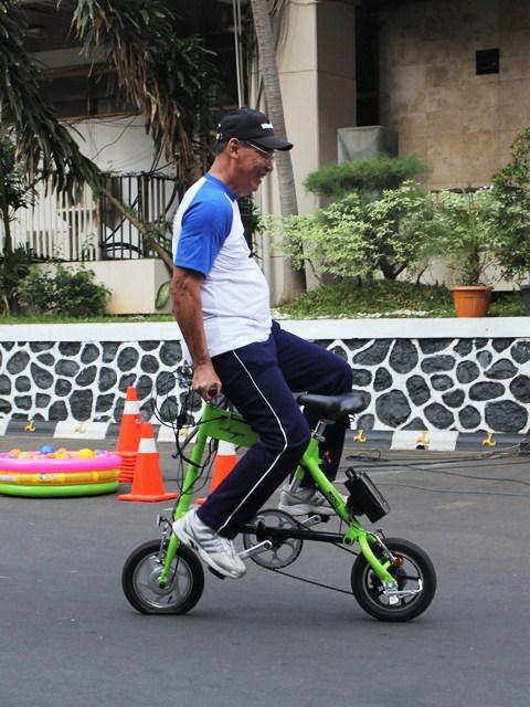 Demo sepeda (amat) mini