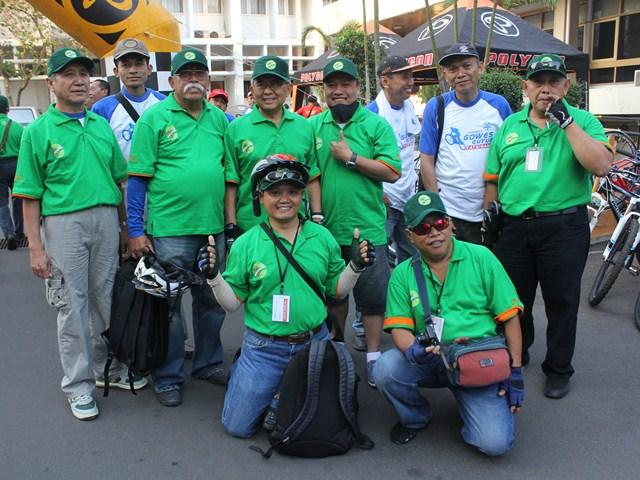 Gowes Guyub Membelah Jakarta Hari H : 2 September 2012